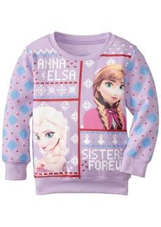 Disney Frozen Little Girls' Toddler Sisters Forever Christmas Sweater