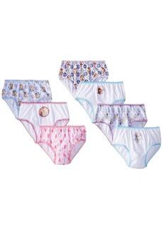 Disney Handcraft Little Girls Frozen 7 Pack Panty