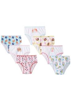 Disney Handcraft Little Girls' Palace Pets  Underwear Panty (Pack of 7)