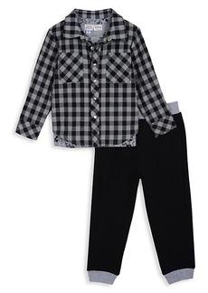 Little Boy's Disney x Pippa & Julie Shirt & Jogger 2-Piece Set