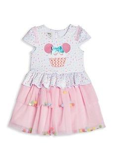 Little Girl's & Girl's Disney x Pippa & Julie Cupcake Dress