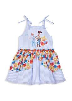 Disney Little Girl's & Girl's Little Boo-Peep & Sheriff Woody Striped Dress