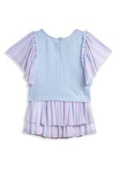 Disney Little Girl's 2-Piece Minnie Mouse T-Shirt & Skirt Set