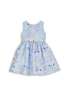 Disney Little Girl's Star Tulle A-Line Dress