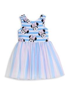Disney Little Girl's Striped Minnie Tutu Dress