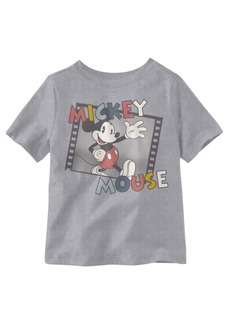 Disney Mickey Mouse Steamboat Short Sleeve Little Boys T-shirt