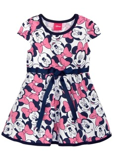 Disney's Minnie Mouse Printed Pullover Dress, Baby Girls
