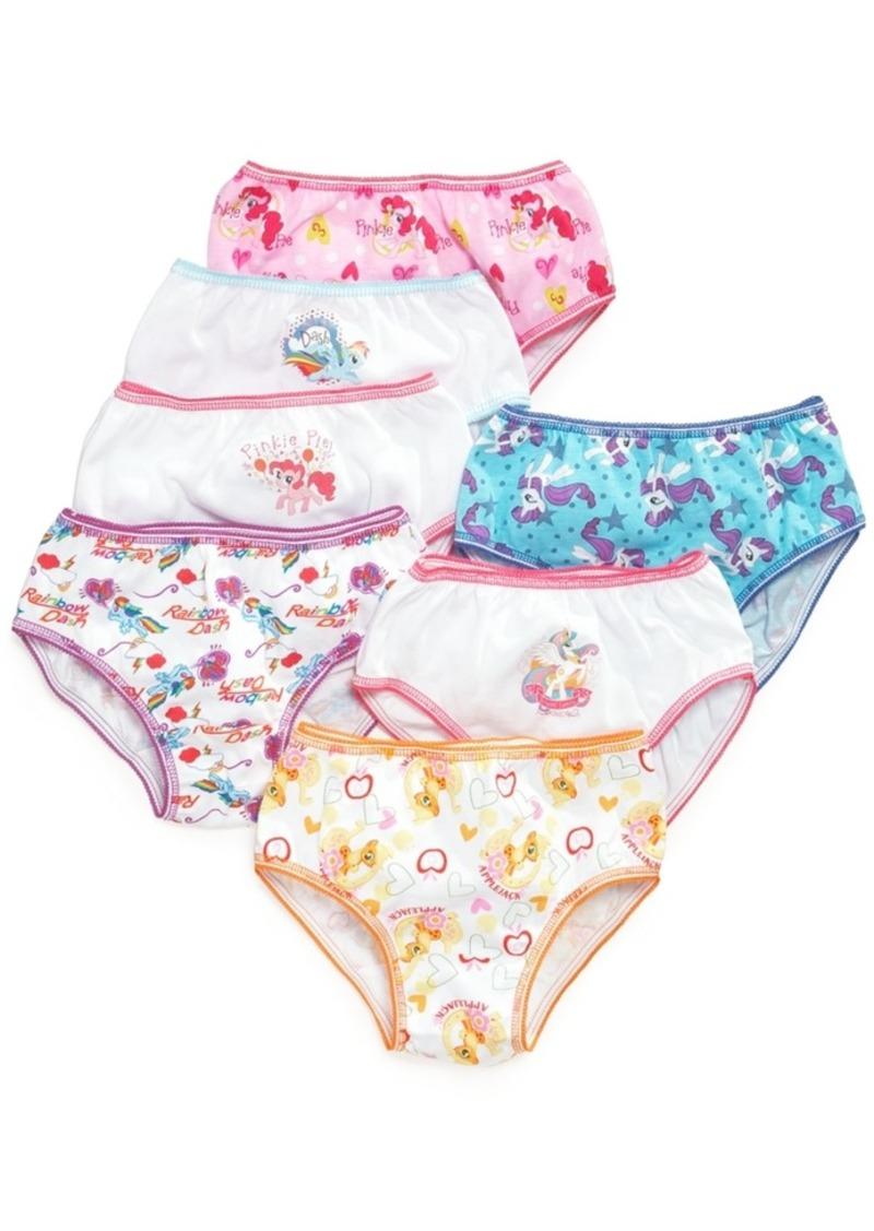 Disney My Little Pony Cotton Underwear, 7-Pack, Little Girls & Big Girls