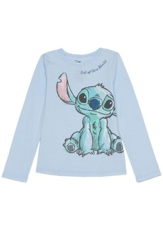 Disney Toddler Girls Stitch Out Of This World Long Sleeve Tee