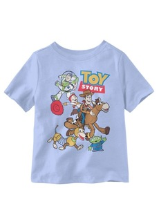 Disney Toy Story Group Shot Short Sleeve Little Boys T-shirt