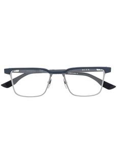 DITA square frame glasses