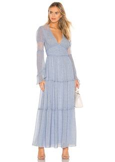 Divine Heritage Button Up Maxi Dress
