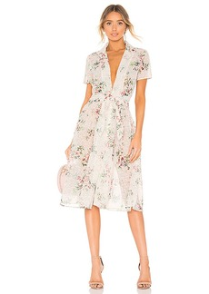 Divine Heritage Collared Button Up Dress