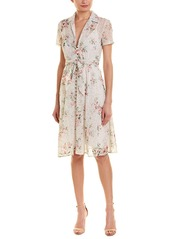 Divine Heritage Embroidered Shirtdress