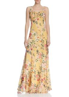Divine Heritage Floral Maxi Dress