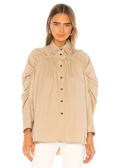 Divine Heritage Ruched Blouse