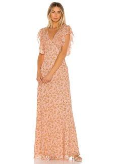 Divine Heritage Sweet Virginia Ditsy Maxi Dress