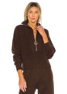 Divine Heritage x REVOLVE Cropped Henley Sweater