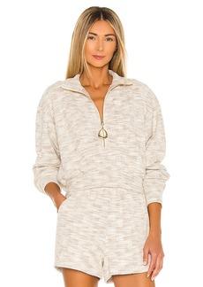 Divine Heritage x REVOLVE Cropped Henley Sweatshirt