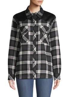 Divine Heritage Quilted Work Shirt Jacket