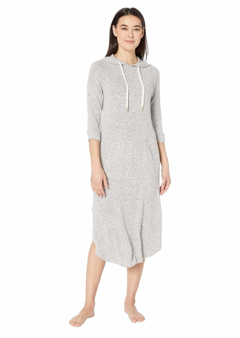 "DKNY 46"" Hooded Sleepshirt"