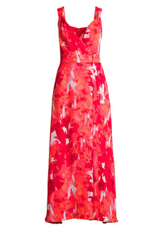 DKNY Abstract Floral Dress