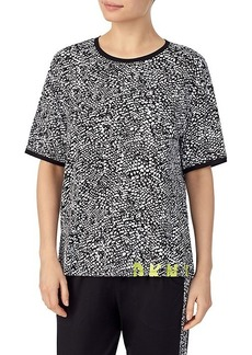 DKNY Abstract-Print Pajama T-Shirt