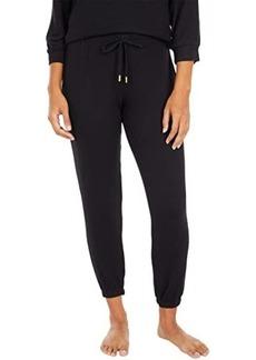 DKNY Brushed Sweater Sleepwear Jersey Joggers