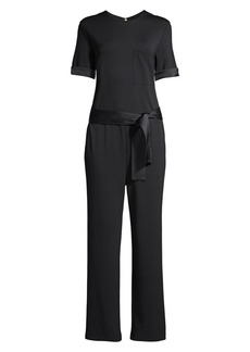 DKNY Casual Luxe Jumpsuit