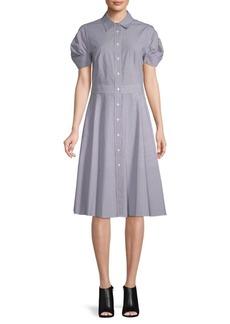 DKNY Classic Cotton Shirtdress