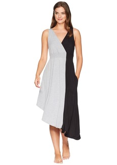 DKNY Color Block Gown