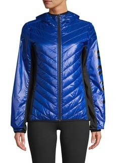 DKNY Colorblock Puffer Jacket