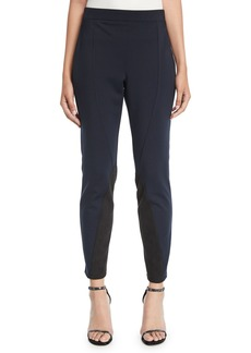 DKNY Colorblocked Seamed Leggings