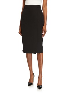DKNY Crepe Pencil Skirt
