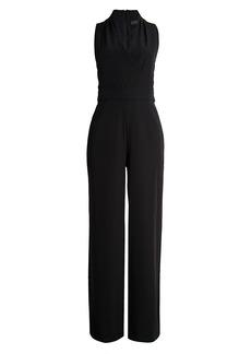 DKNY Crossed Wide-Leg Jumpsuit