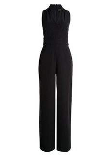 DKNY Crossed Wide-Leg Jumpsuit