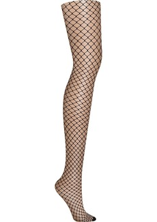 DKNY + Large Fishnet Tights