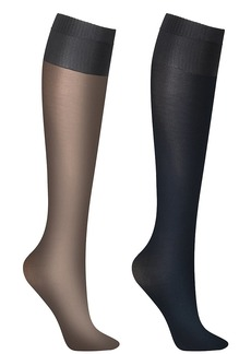 DKNY + Opaque Knee Highs 2-Pack