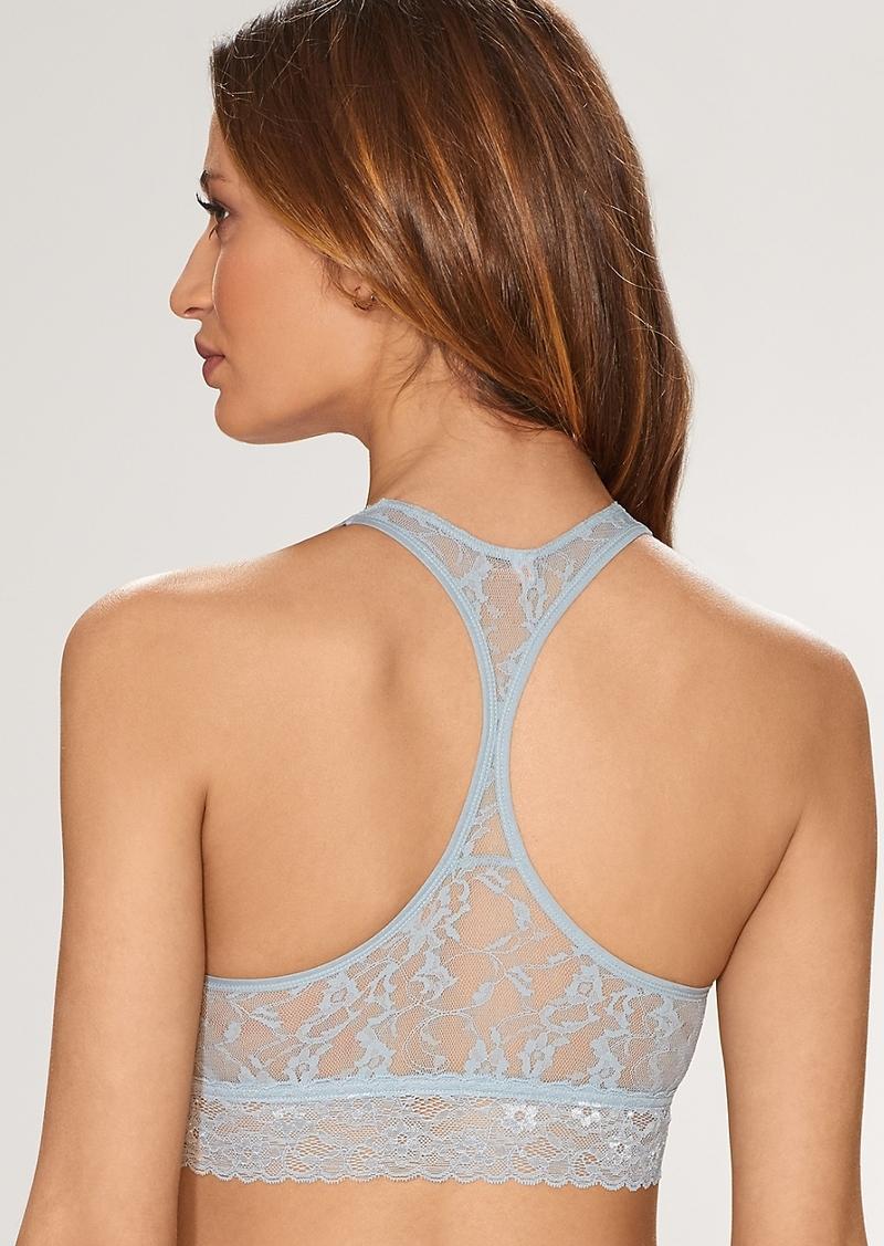 DKNY + Signature Lace Racerback Bralette