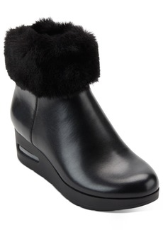 Dkny Abri Wedge Booties, Created For Macy's