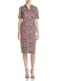 DKNY Abstract Print Sheath Dress