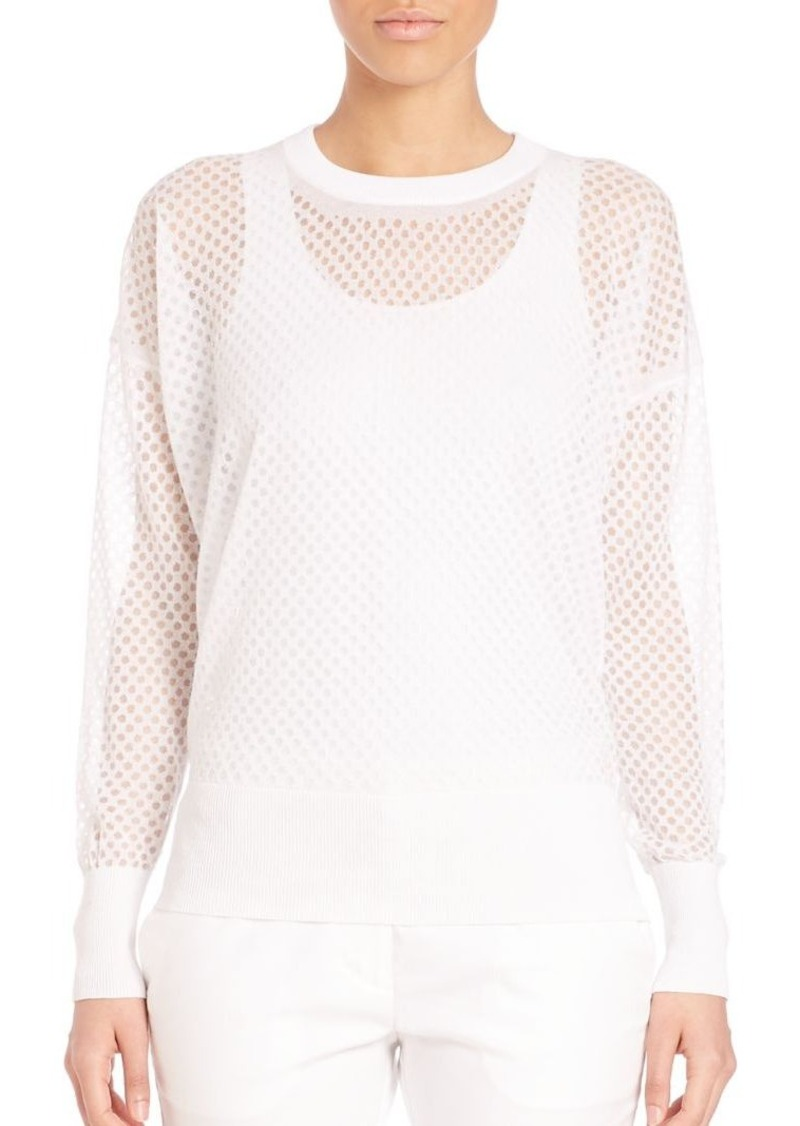 DKNY All Over Dots Pullover