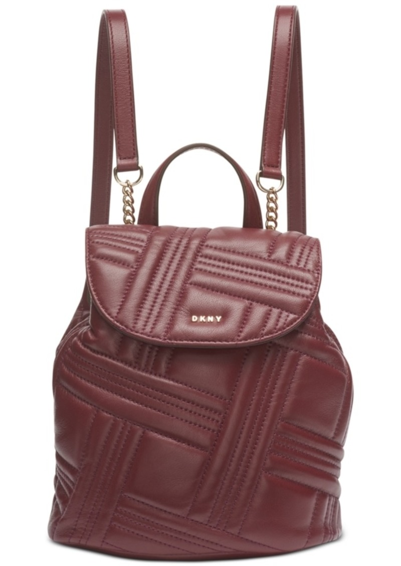 Dkny Allen Small Flap Backpack, Created For Macy's
