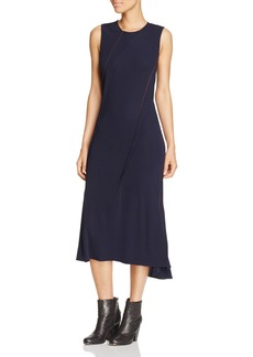 DKNY Asymmetric Pleated Dress - 100% Exclusive