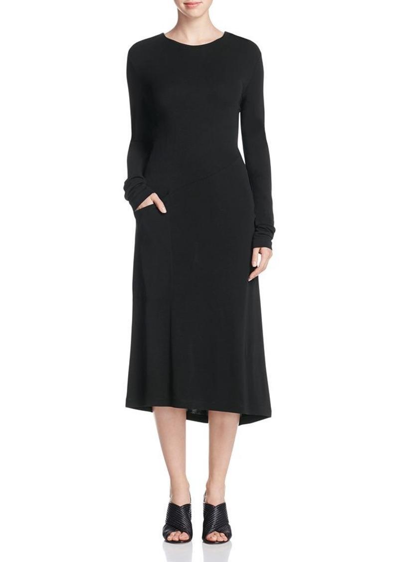 DKNY Asymmetric Seam Dress