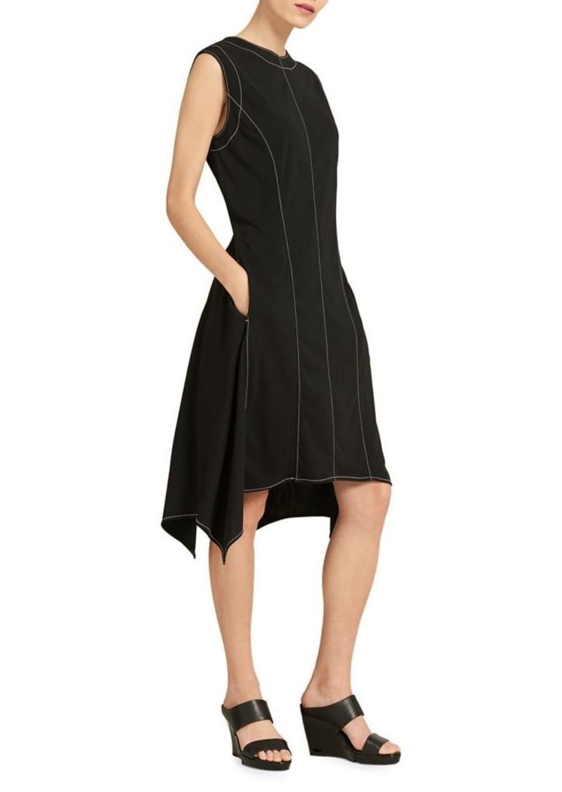 dc001629511 DKNY Donna Karan Asymmetrical Knee-Length Dress