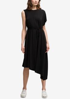 Dkny Asymmetrical Midi Dress, Created for Macy's