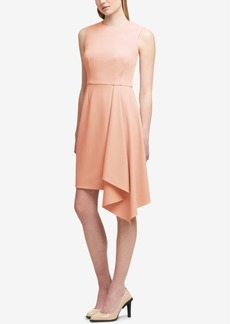 Dkny Asymmetrical Sheath Dress, Created for Macy's