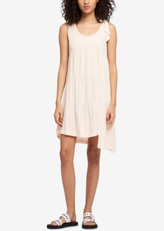 Dkny Asymmetrical Shift Dress, Created for Macy's