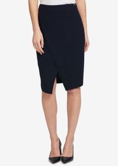 Dkny Asymmetrical Split Skirt, Created for Macy's